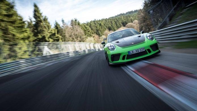 Porsche logró el tiempazo del 911 GT3 RS en Nürburgring gracias a Chevrolet