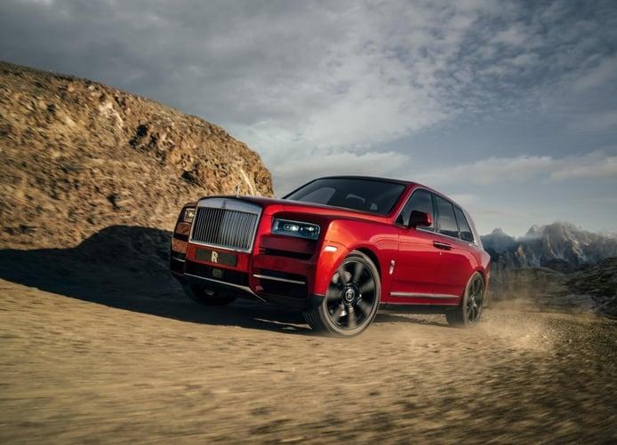 Rolls-Royce Cullinan: el SUV más grande y lujoso del mundo es desvelado