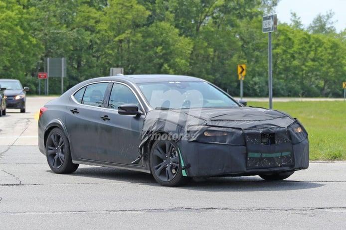 Acura TLX 2020: primeras imágenes de la segunda generación del sedán