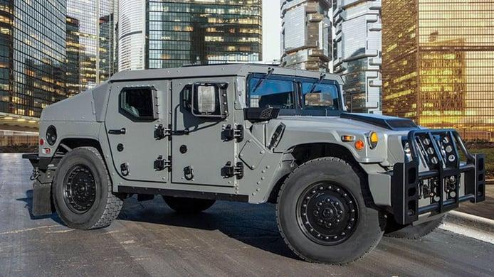 Humvee NXT 360: presentada la mayor actualización del Hummer H1 militar