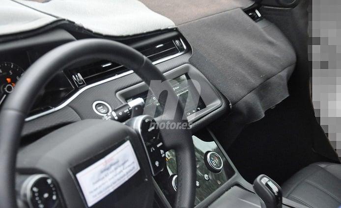 Al descubierto parte del interior del Range Rover Evoque 2019