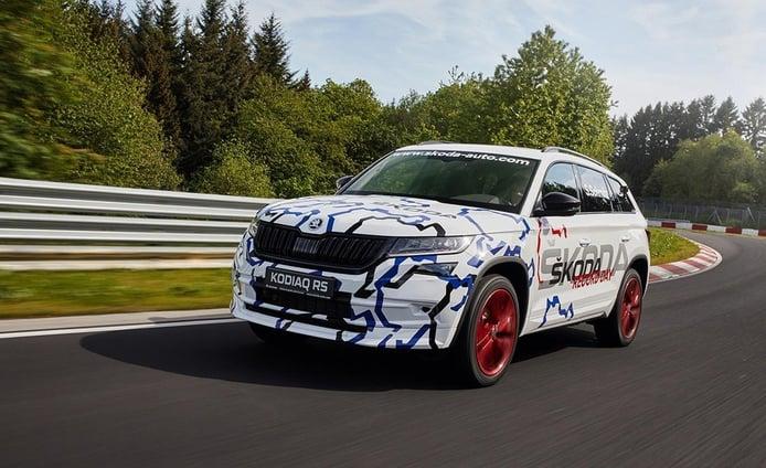 El Skoda Kodiaq RS bate el récord de Nordschleife para un SUV de 7 plazas