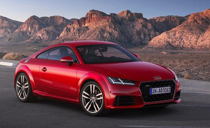 Audi TT 2019, más potencia y un equipamiento de serie mejorado