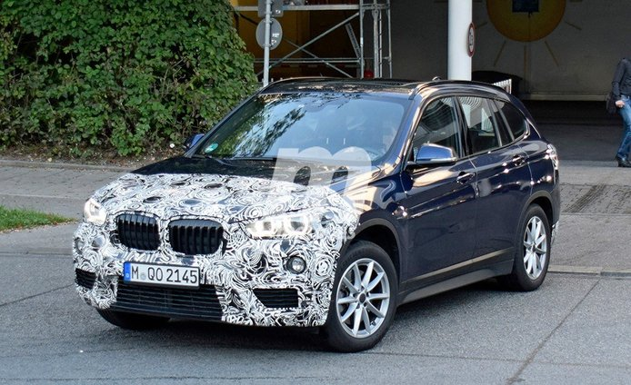 El nuevo BMW X1 ya está siendo desarrollado y estas son sus primeras fotos