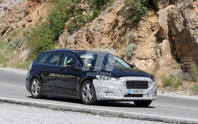 Ford Mondeo 2019: nuevas imágenes del facelift de la versión SportBreak