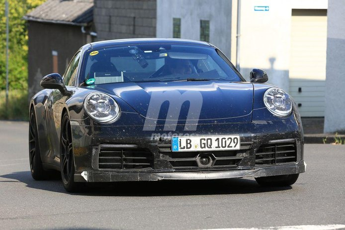 Porsche 911 GTS: primeras imágenes de la nueva generación