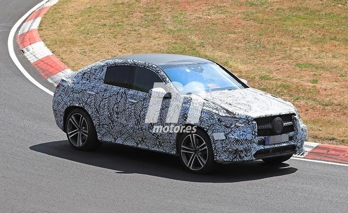 La nueva generación del Mercedes Clase GLE Coupé se enfrenta a Nürburgring