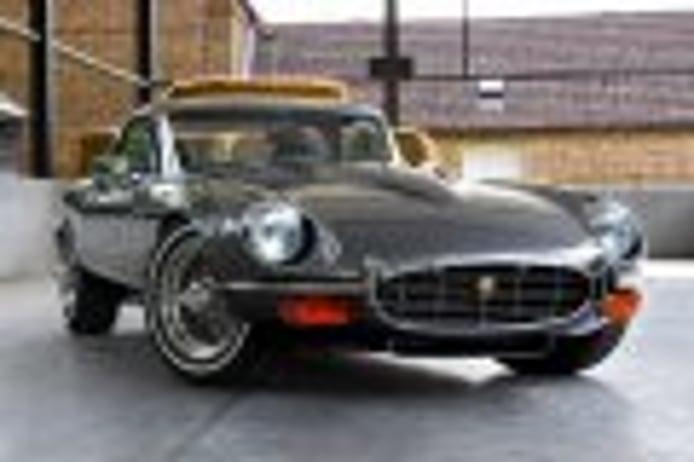 Este Jaguar E-Type tiene el V12 más grande montado nunca en el modelo