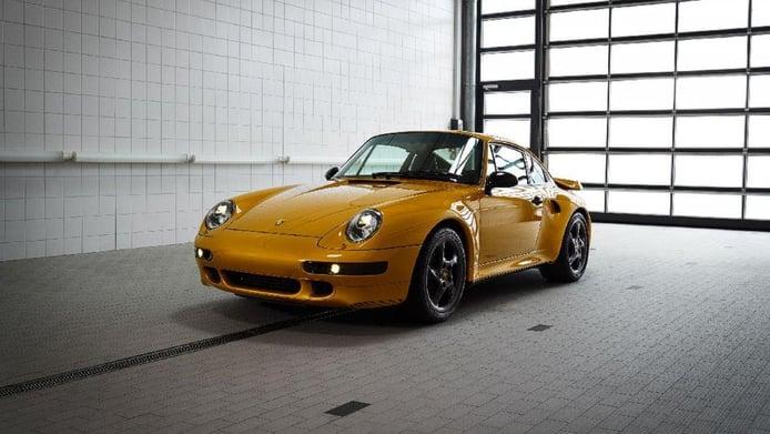 Porsche 911 Turbo 'Project Gold': el 993 Turbo más potente y mimado