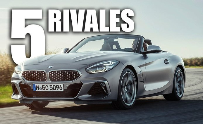 Los 5 rivales principales del nuevo BMW Z4 2019