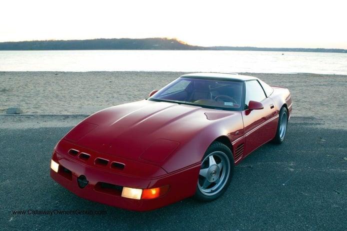 Uno de los rarísimos Corvette Callaway SuperNatural CR-1 a la venta