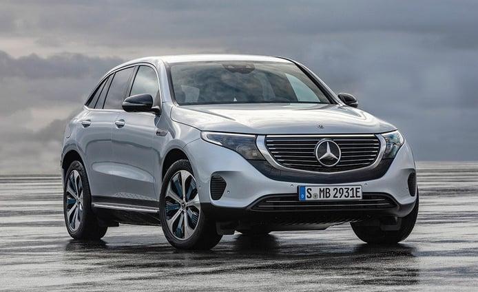 Mercedes EQC, la marca de la estrella se electrifica con su primer SUV eléctrico