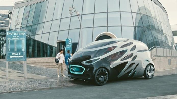 Mercedes desvela el concepto de movilidad futura Vision URBANETIC