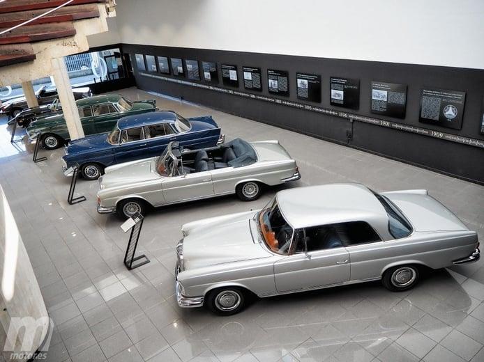Visitamos el Museo Aguinaga de coches clásicos de Mercedes
