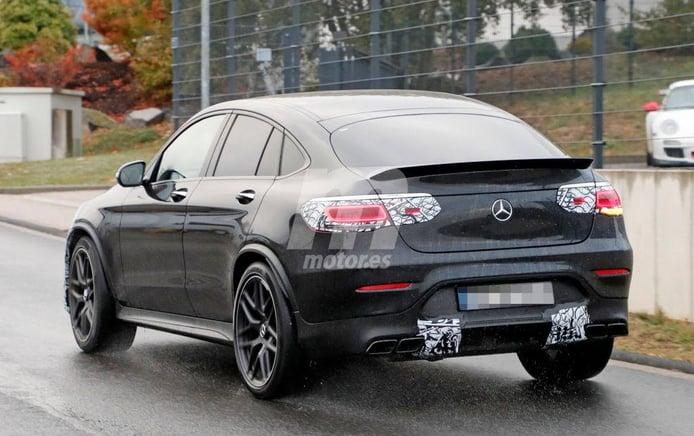 El nuevo Mercedes-AMG GLC 63 Coupé nos muestra las novedades de su zaga