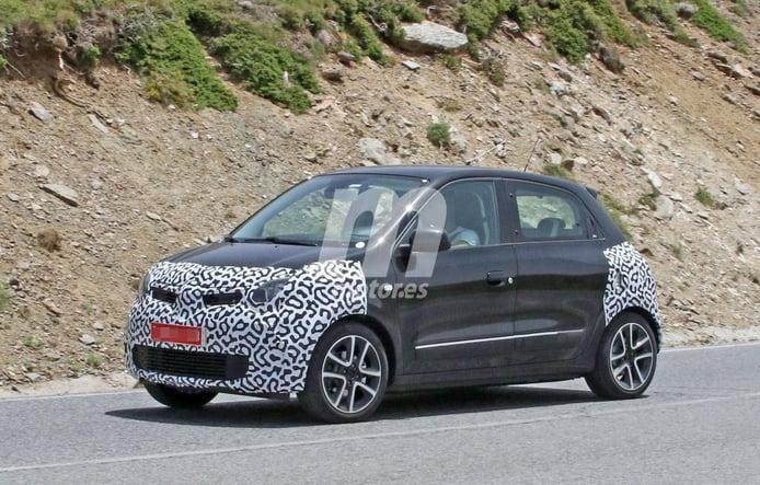 El facelift del Renault Twingo cazado con su configuración definitiva