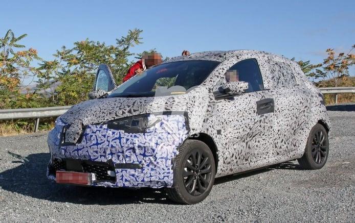 La segunda generación del Renault ZOE 2020 comienza sus pruebas