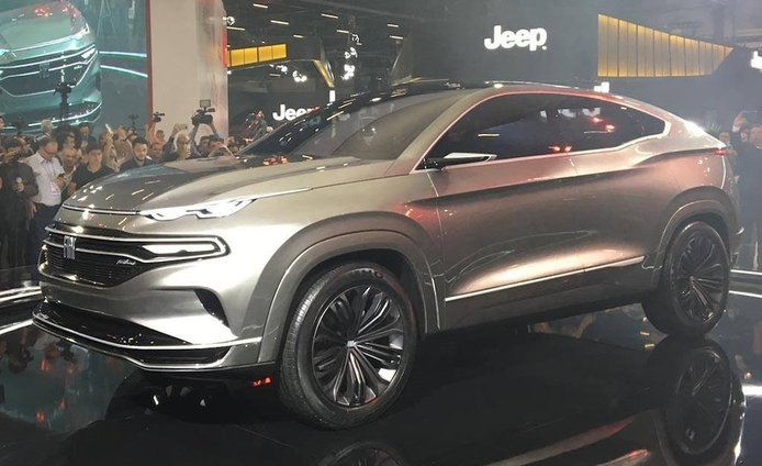 Fiat Fastback Concept, adelanto de un rival para el Renault Arkana