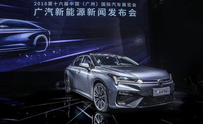 GAC Aion S, el fabricante chino pone en su punto de mira a Tesla
