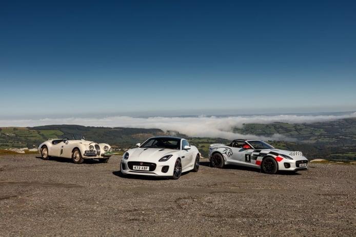 El Jaguar F-TYPE Roadster se viste de rally en una edición especial