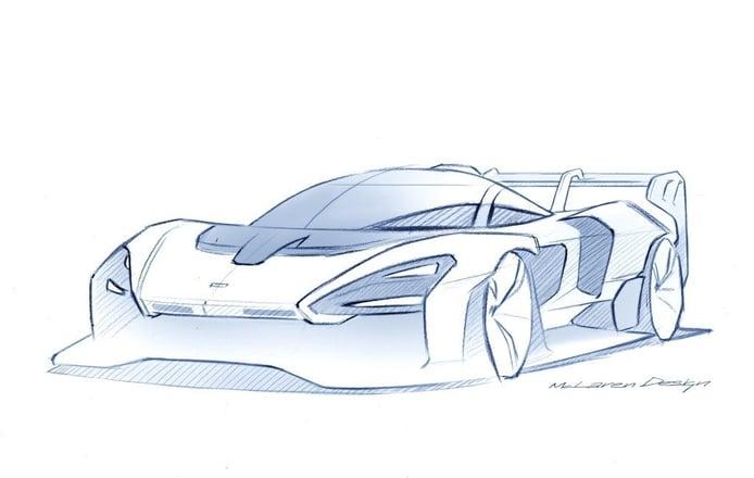 El McLaren Senna GTR tendrá 825 CV y 1 tonelada de downforce