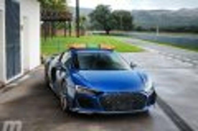 Prueba Audi R8 2019, nacido en los circuitos