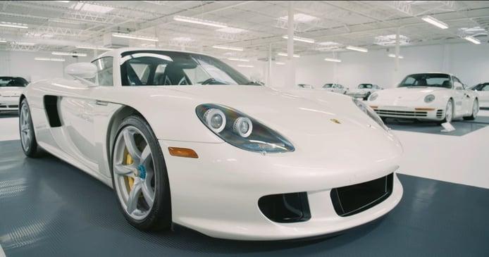 The White Collection: 65 Porsche y todos de color blanco