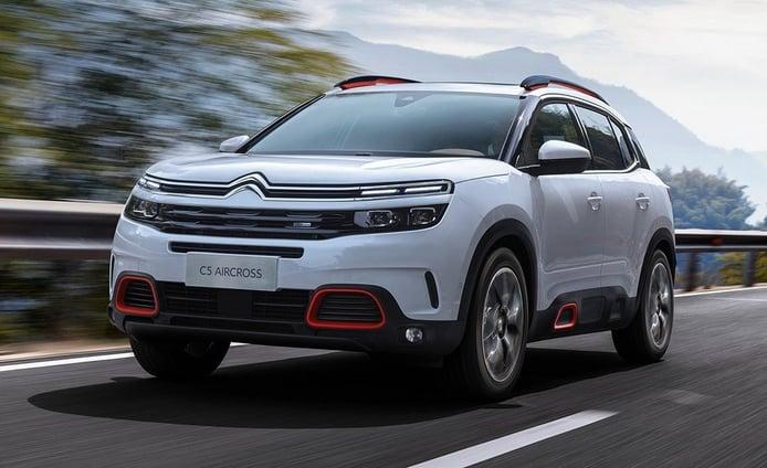 Precios y gama del Citroën C5 Aircross, el nuevo SUV ya puede ser configurado