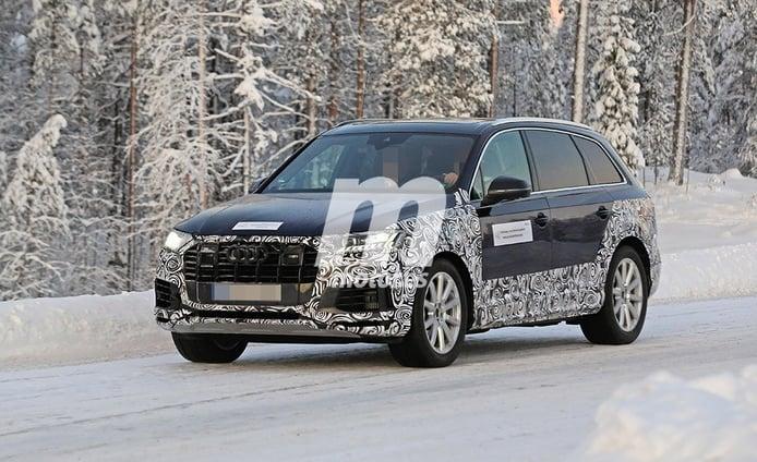 El nuevo Audi Q7 2020 se enfrenta a la nieve del norte de Europa
