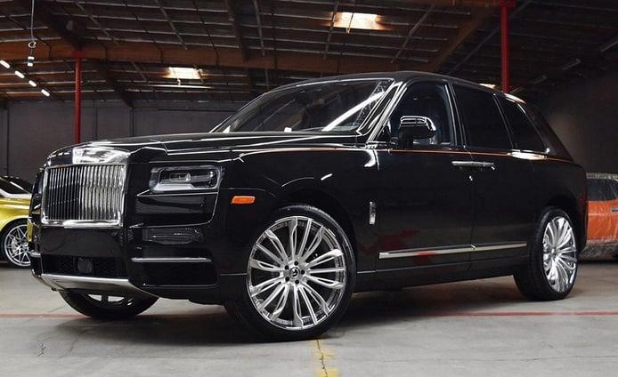 El nuevo Rolls-Royce Cullinan se calza unas llantas Forgiato de 22 pulgadas