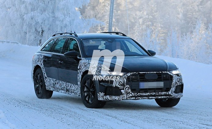 El nuevo Audi A6 allroad quattro ya realiza sus test de invierno en Europa