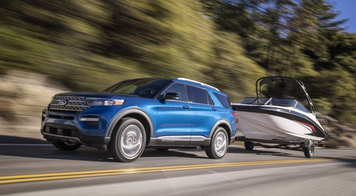 El nuevo Ford Explorer Hybrid 2020 llega a Detroit con 322 CV
