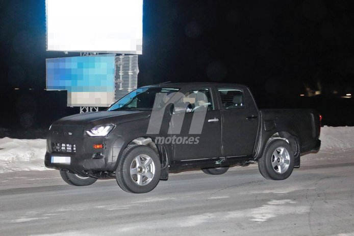 Isuzu D-Max 2020: primeras fotos espía de la nueva generación del pick-up