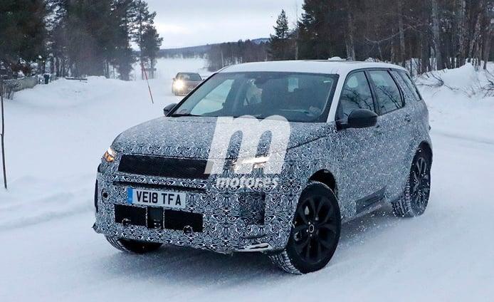 El nuevo Land Rover Discovery Sport 2020 ya realiza sus test de invierno