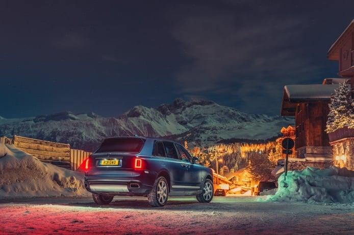 Rolls-Royce Cullinan Ski Taxi, la propuesta de Bespoke para selectos esquiadores
