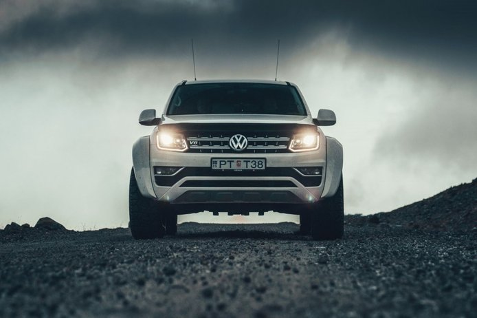Volkswagen Amarok AT35, un one-off diseñado para conquistar el Círculo Polar Ártico
