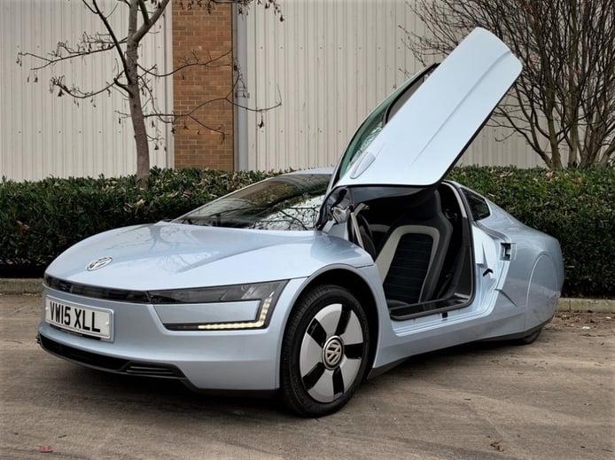 Sale a subasta en Reino Unido un Volkswagen XL1, el ejemplo de Ferdinand Piëch de eficiencia