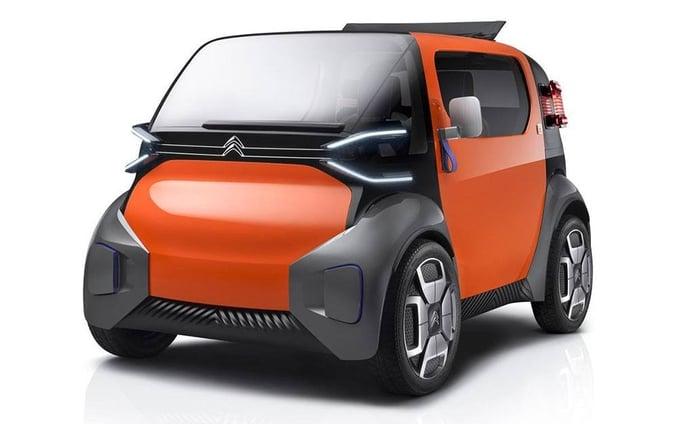 Citroën Ami One Concept, movilidad eléctrica y accesible para la gran ciudad