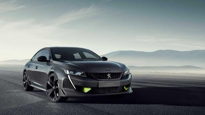 Peugeot desvela el Concept 508 Peugeot Sport Engineered