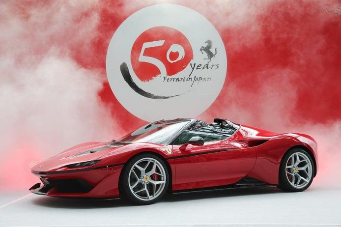 Uno de los raros Ferrari J50 de edición limitada aparece a estrenar