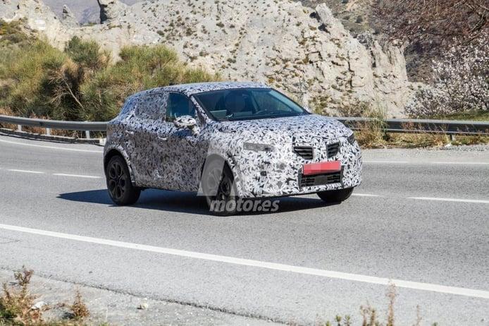 El nuevo Renault Captur 2020 se deja ver con menos camuflaje