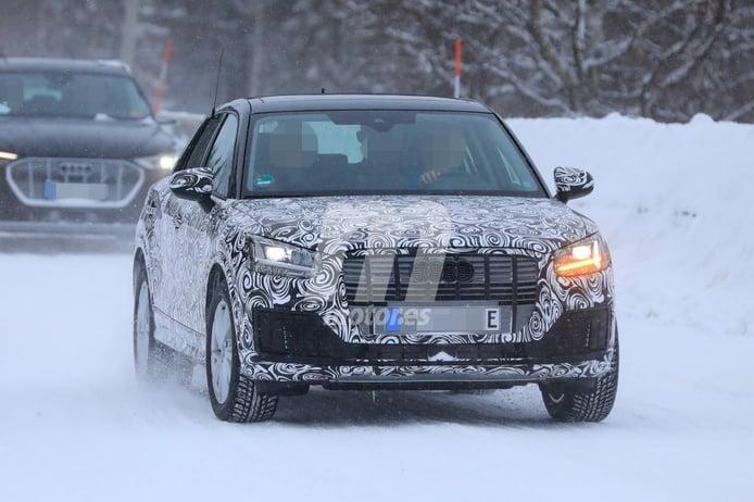 Nuevas fotos espía confirman que Audi prepara un Q2 e-tron para Europa