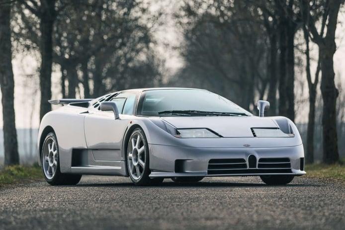 El último Bugatti EB110 SS fabricado aparece a la venta