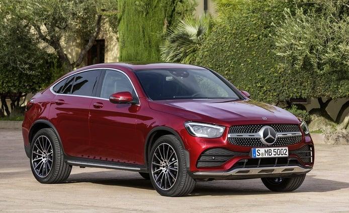 Mercedes GLC Coupé 2019, la variante más deportiva se renueva