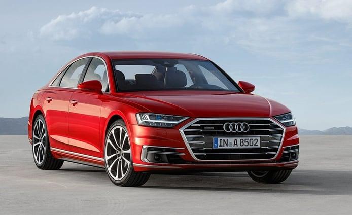 El nuevo Audi A8 estrena la motorización 55 TFSI con 340 CV