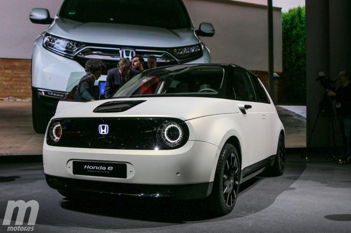 El nuevo Honda e Prototype en vídeo desde el Salón de Ginebra 2019