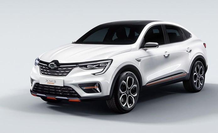 XM3 Inspire, el Renault Arkana irrumpe en Corea del Sur