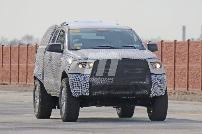 Las mulas del nuevo Ford Bronco cazadas de nuevo