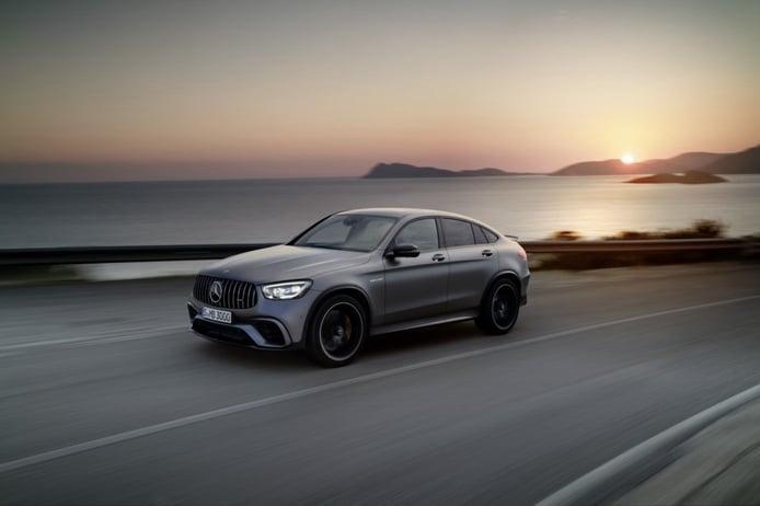 Mercedes-AMG estrena los nuevos GLC 63 4MATIC+ Coupé, incluida la versión S