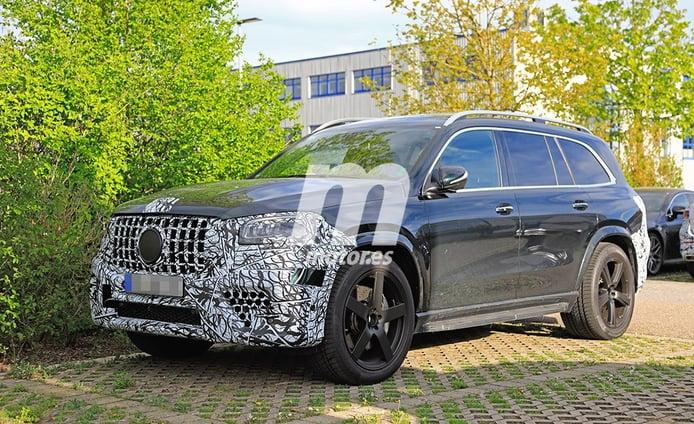 El nuevo Mercedes-AMG GLS 63 2020 avistado con menos camuflaje